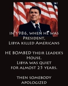 "Courtesy of crocodilestament.com ""If Regan were here today, ISIS would not exist."" quote by John J. Rigo, copyright 2014 Texas' Commentator"