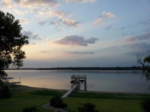 "A recent picture from ""OZ"" our lakehome in Gun Barrel City, Texas"