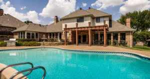 Another picture of our pool at our home for sale on 2407 Clublake Trail in McKinney, Texas 75070