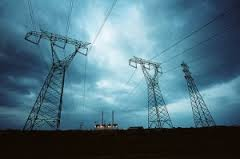 Are we know as a country rendering aid to our enemies?  Power Grid of US courtesy of Google Image Search.