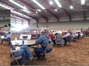 Cow-Calf Convention in Athens, Texas on April 3rd, 2014.  Copyright by John J. Rigo