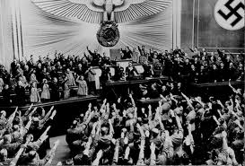 """Are we being molded into a ""New World Order"" as Hilter did with Germany? Image courtesy of Google Image Search."