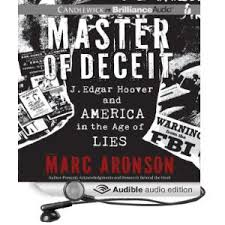 "Cover of J. Edgar Hoover's book, ""Master's of Deceit""  Picture courtesy of Google Image Search."