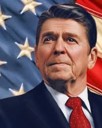 Ronald Regan, one of greatest Presidents.  Picture courtesy of Google Search.