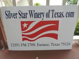 "Our New Logo Sign ""Silver Star Winery of Texas"" copyright 2013 John J. Rigo"