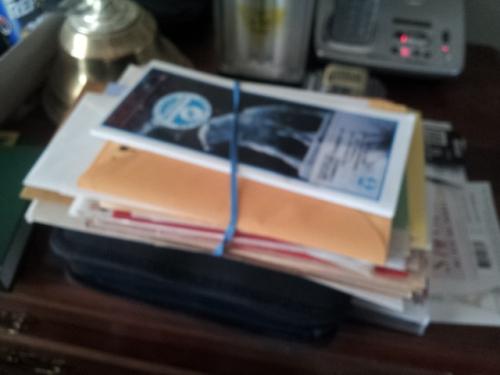 """Bundled Love Cards from the Past"" copyright 2014 John J. Rigo"