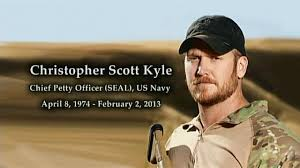 Chris Kyle Day on February 2nd, 2015 in the state of Texas.  A salute by a Texas' poet and Commentator, John J. Rigo, copyright 2015.  Picture courtesy of Google Image Search.